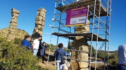 Nueva campaña de restauración en el acueducto romano de Los Bañales