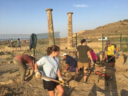 XI Campaña de excavaciones en Los Bañales