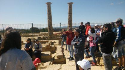 Visita la ciudad romana de Los Bañales