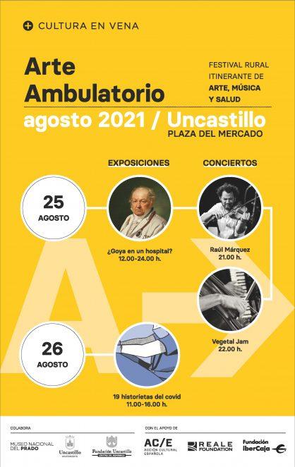 Arte Ambulatorio en Uncastillo. 25 y 26 de agosto